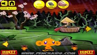 Hướng dẫn chơi game Chú khỉ buồn 22: Samurai - Game Vui