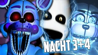 NEUE ANIMATRONICS + JUMPSCARES! (Five Nights at Freddy's: Sister Location) - FNAF 5