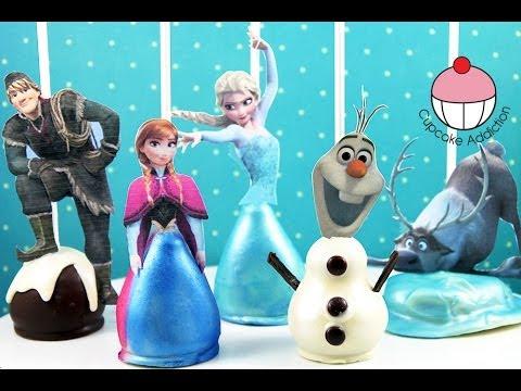 Disney Frozen Cake Pops Template