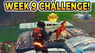 """""""Follow the treasure map found in Haunted Hills""""  Fortnite Week 9 Challenges! (+ Channel Update)"""