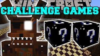 Minecraft: PHANTOM FOXY CHALLENGE GAMES - Lucky Block Mod - Modded Mini-Game