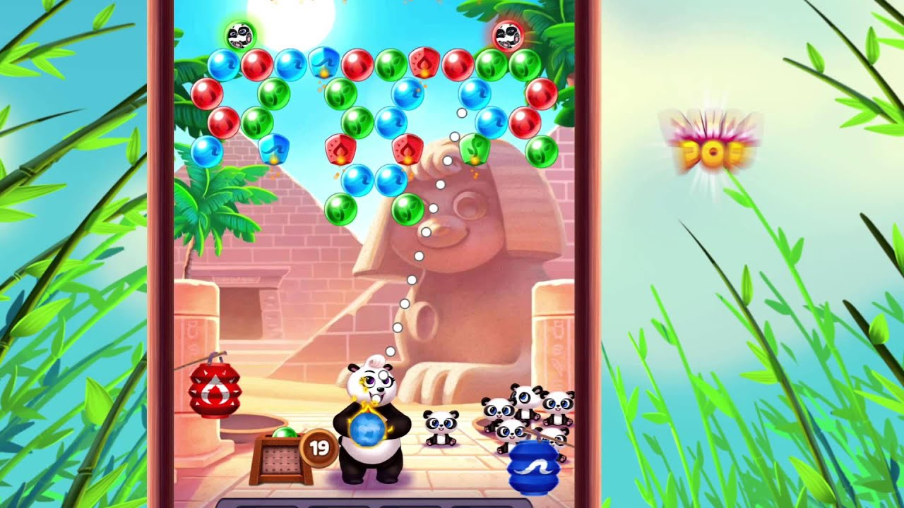 Spielen Panda Pop on PC 2