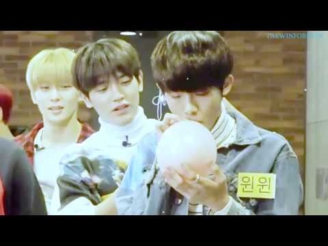 NCT TAEWIN ~ taeyong & winwin playing around and staring at each other