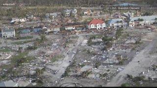 Hurricane Michael left a path of destruction
