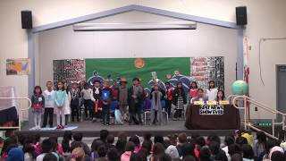 """Noble 3rd Grade PPP program plays """"European Explorers in the New World"""""""