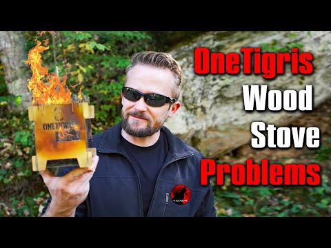 I Can't Recommend It - OneTigris ROCUBOID Splicing Wood Burning Stove