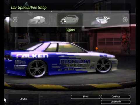 Need For Speed Underground 2 Skyline Unlock Need4speed Fans
