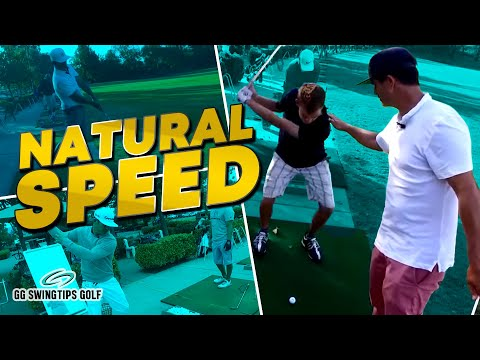 Build Speed with Natural Rotation   Simple Golf Swing