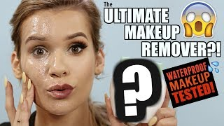 EXTREME Makeup Remover TESTED against WATERPROOF MAKEUP! (Does it Work?!)