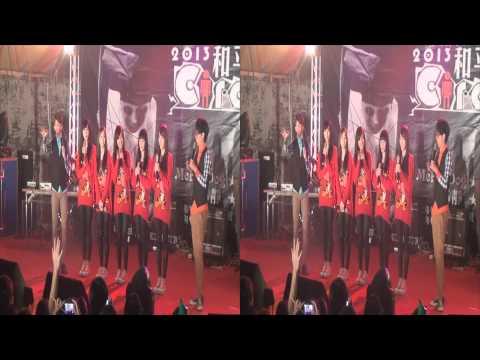 20130315 Popu Lady 和平高中 和平舞夜 3D Ver.