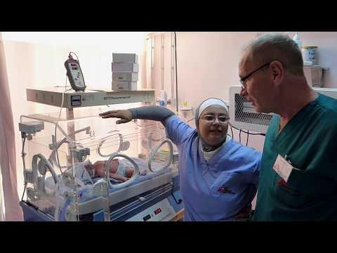 För tidigt födda barn i Jordanien