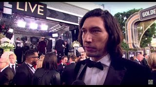 76th Golden Globe Arrivals: Adam Driver