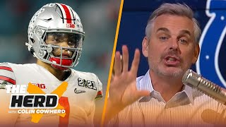 Colts need to seriously consider trading up in draft to find franchise QB — Colin | NFL | THE HERD