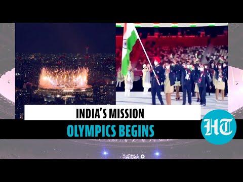 Olympics opening ceremony: Mary Kom, Manpreet Singh lead Team India as Tokyo games kick-off