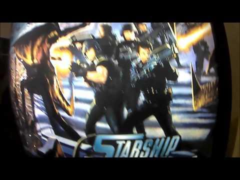 UNBOXING STARSHIP TROOPERS PINBALL EN ARCADE VINTAGE