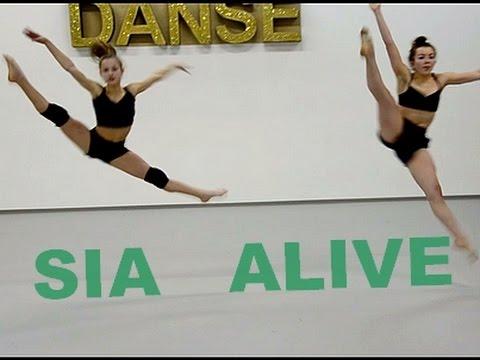 SIA ALIVE - LYRICAL CONTEMPORARY JAZZ cours de danse avec Sabrina Lonis