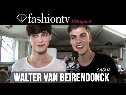 Walter Van Beirendonck Men Backstage | Paris Men's Fashion Week Spring/Summer 2015 | FashionTV