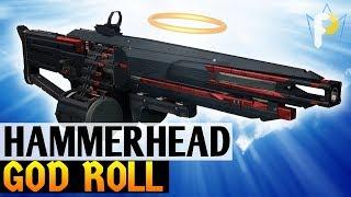 Best Legendary Machine Gun: GOD ROLL HAMMERHEAD
