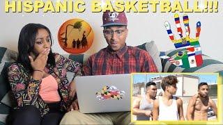 "Couple Reacts : ""HISPANIC BASKETBALL"" By Rudy Mancuso Reaction!!!"