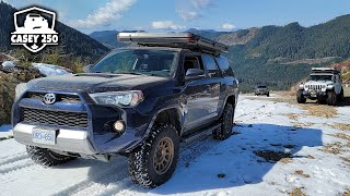 When Overlanding Goes Wrong!! Unexpected Problems w/ Jeep Wrangler, Gladiator & 4Runner