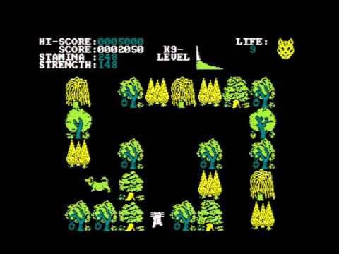 PAWS AMSTRAD CPC GAMEPLAY