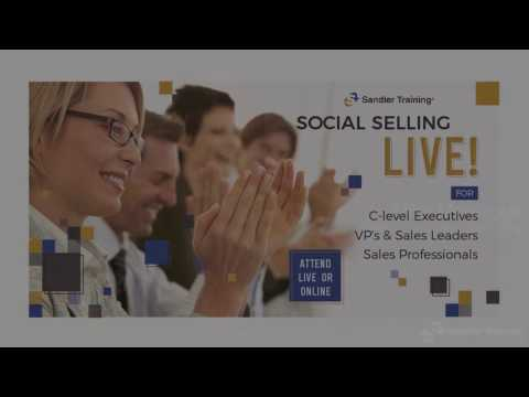Social Selling Live Boot Camp - March 8th, 2017