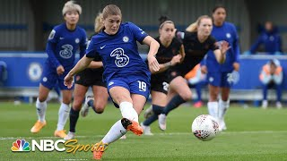Women's Super League: Chelsea v. Manchester City   EXTENDED HIGHLIGHTS   NBC Sports