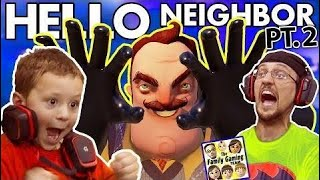 WE SCARED OUR BLIND NEIGHBOR!?  FGTEEV Scary Hello Neighbor Kids Horror Game Part 2 (Al  | Part 148