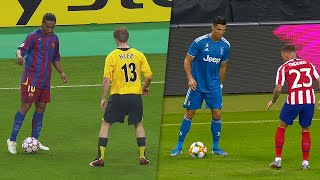 Ronaldinho & Cristiano Ronaldo COPY Each Other