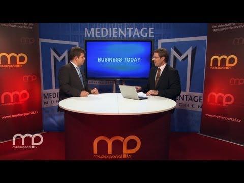 BUSINESS TODAY: Markus Kaiser - Tipps für Berufseinstieg in Medien