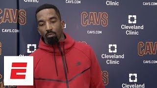 JR Smith says the Cavaliers need to 'step it up' and help LeBron James| ESPN