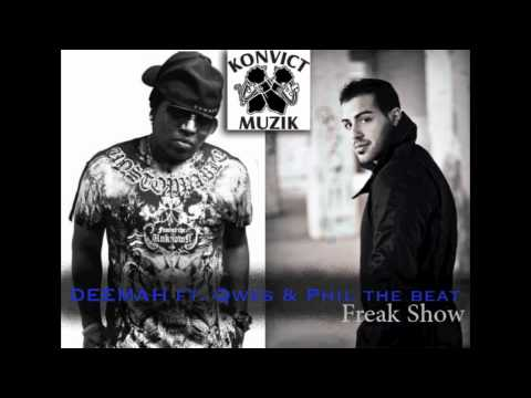 DEEMAH ft. Qwes & Phil Thebeat - Freak Show (Konvict Exclusive)