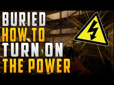 """HOW TO TURN THE POWER ON"" IN ""BURIED"" IN UNDER A MINUTE! (Quickly Turn On Power) - Smashpipe Games"