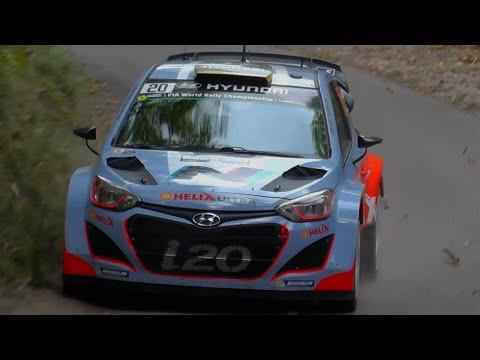 WRC Rallye de France 2014   Day 2 [HD]