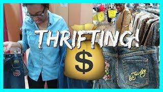 THRIFT SHOPPING! | BLACK FAMILY VLOGS
