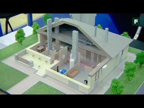 """Как строят дома из дерева. Новости выставки """"Загородный дом"""" // FORUMHOUSE"""