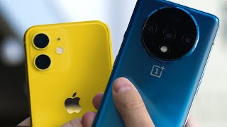 iPhone 11 vs OnePlus 7T: Not so fast…