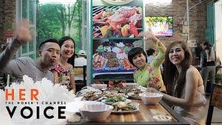 Xiên Que Nướng - Việt Hương, Trấn Thành, Duy Khánh, Lê Lộc | Vietnamese Food