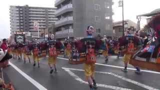 よさこい東海道2013 本祭【本町審査会場】大富士with雄大グループ