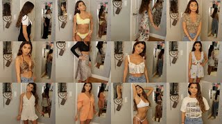 The Most INTENSE Summer Haul You Will EVER Watch (Boohoo, Princess Polly, Brandy, Etc.)