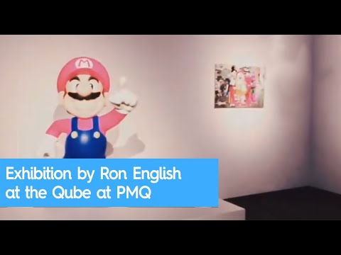 Exhibition by Ron English at the Qube at PMQ in Hong Kong