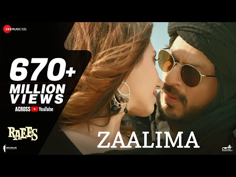 Zaalima | Raees | Shah Rukh Khan & Mahira Khan | Arijit Singh & Harshdeep Kaur | JAM8