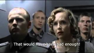 Hitler reacts to Angela Merkel as Time person of the year 2015