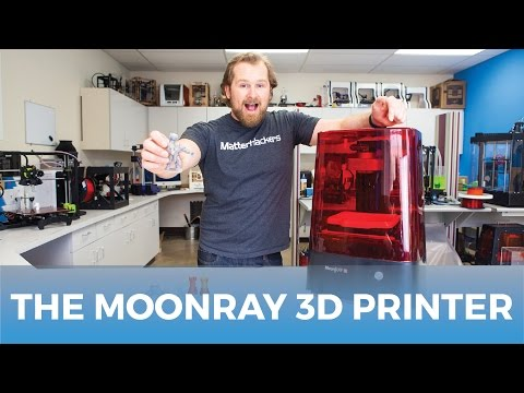 The MoonRay S Resin 3D Printer // Product Review & Highlights
