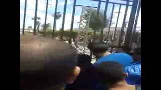 انفجار باستاد كفر الشيخ الرياضى 15-4-2015