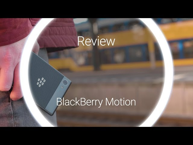 Belsimpel-productvideo voor de BlackBerry Motion Black
