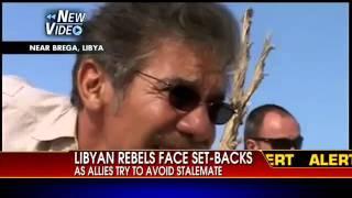 Geraldo Rivera Caught In Fire Fight in Libya