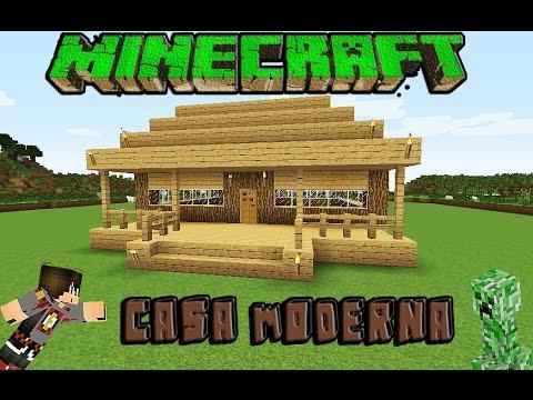 Minecraft pe como hacer una casa moderna 2 musica for Casas modernas minecraft 0 10 0