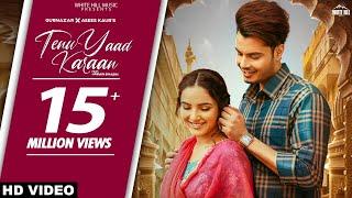 Latest Punjabi Video TENU YAAD KARAAN Gurnazar Chattha Asees Kaur Ft Jasmine Bhasin Download