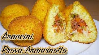 Arancine o Arancini di Riso con PROVA ARANCINOTTO - Italian Recipe [Video 4k]